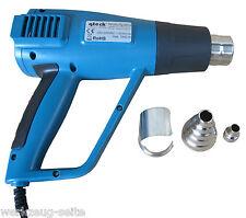 Heißluftpistole 100-650 °C stufenlos Fön Heißluftgebläse Heißluftfön hot air gun