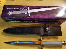 """United Cutlery Gil Hibben Knives Single Shadow Dagger Knife 12 3/4"""" GH441"""