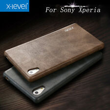 X-Level Sony Xperia Z5 /XZ Premuim/XA/ XA1/ X /XZ1 compact Case Cover PU Leather