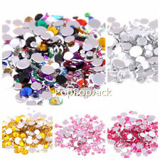 SS16 4mm Resin Flatback Crystal Rhinestone Non Hot Fix with Free a wax pencil