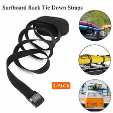 Heavy Duty Car Auto Roof Luggage Tie-Down Straps Surfboard Tie Down Straps 2Pack