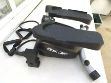 REEBOK MINI SWING STEPPER,COUNTER,2 X STRETCH BANDS,SLOPE & RESISTANCE ADJUSTERS