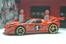 Hot Wheels Loose - Ford GT LM - Red - Exclusive - 2019