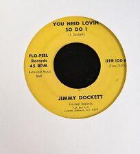 Jimmy Dockett Flo Feel 100 You Need Lovin So Do I