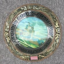 Vintage Coors Beer Bubble Sign 100th Anniversary 1873-1973 Old Brewery Image Usa