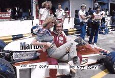 9x6 Photograph,James Hunt   Brazilian Grand Prix Interlagos  Portrait 1977