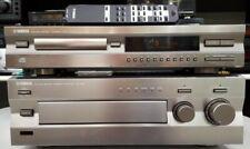 YAMAHA AX-396 AMPLIFICATORE HI-FI+ LETTORE CD CDX-396 CON TELECOMANDO **Perfetti