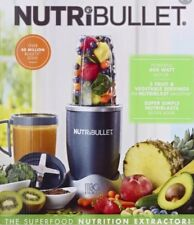 NutriBullet 8-Piece Nutrition Extractor Blender Juicer, NBR-8 Nutri Bullet New