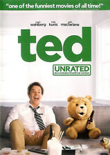 Ted ~ Mark Wahlberg Mila Kunis ~ Unrated DVD WS with Slipcover ~ FREE Shipping