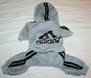 Scheppend Adidog Dog Cat Sweater Jumpsuit Coat Many Sizes & Colors SMALL BREEDS