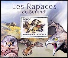 Osprey, Birds of Prey, Raptors, Burundi 2011 MNH Sheet  -C27