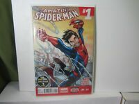 The Amazing Spider-Man #1 - First Issue 2014 Series / AMS Marvel Comics Stan Lee