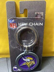 Minnesota Vikings Keyring  Metal Keychain Brand New