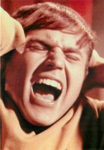"Star Trek Pavel Chekov Scream Postcard 6x4"" Actor Walter Koenig Screaming"