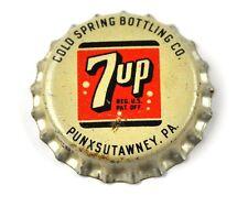 Vintage Dr. Pepper 7up Soda Kronkorken USA Bottle Cap Korkdichtung 7 UP