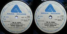 BARRY MANILOW COPACABANA 1978 SPANISH & ENGLISH VERS MEGARARE CHILEAN PRESS ONLY