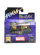 Marvel Minimates Uncanny Sabretooth & Kluh Series 62 Axis X-Men Figures New