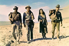 Lee Marvin Claudia Cardinale Woody Strode in desert The Professionals Poster