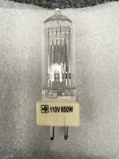 110v 650w Halogen studio Continuous Lighting Bulb NEW