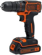 & Decker-BDCHD 18K-GB Black - 18v Taladro Percutor Combi (Kitbox)