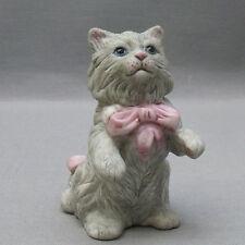 Cybis Franklin Comme neuf cabinet de curiosité des chats, Curio Cabinet Cats