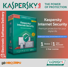 KASPERSKY INTERNET SECURITY 2020 MULTI-DEVICE 1 USER / 1 YEAR | MULTI LANGUAGES