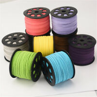 5 Metres Thread String Suede Cord Bracelet Necklace Jewelry Making Cords 2.6mm