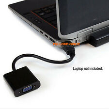 Gold 1080P HDMI Input to VGA Video Converter For PC Laptop NoteBook HD DVD CA