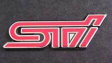 STI badge IMPREZA STI WRX Turbo (L)