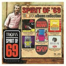 SPIRIT OF '69 TROJAN ALBUMS COLLECTION 5 CD SET (Released March 29th 2019)