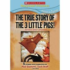 True Story of the Three Little Pigs DVD, ,