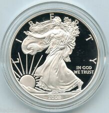2008 American Eagle One Ounce Proof Silver Bullion Coin - 1 oz - US Mint