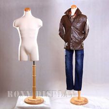 Male Mannequin Manequin Manikin Dress Form #33Mleg01+Bs-R01N
