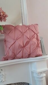 100% Egyptian cotton pink cushion covers X 4 nwt