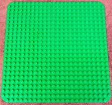 "Clean Green Lego 4268 Plastic Base Plate Brick Building Platform 15"" x 15"" 24x24"