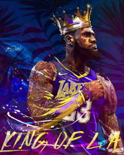 "653 Lebron James - LBJ La Lakers NBA MVP Basketball 24""x30"" Poster"