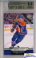 2015/2016 UD Connor McDavid Collection #24 ROOKIE BGS 9.5 GEM MINT Oilers !!