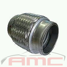 """100mm 3"""" flex joint, turbo, supercharged stainless, v8, torana, xy, gt, a9x, xa"""