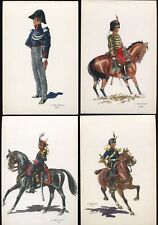 Great Collection of 23 Beligan Military Costumes Postcards by j De Mart B4386
