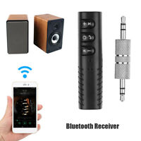 BT4.2 Receiver Audio Clip 3.5mm Car Wireless Speaker Interface Headphone Adapter