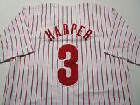 BRYCE HARPER / AUTOGRAPHED PHILADELPHIA PHILLIES CUSTOM BASEBALL JERSEY / COA