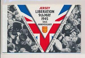 LO37906 Jersey liberation day war prestige booklet MNH