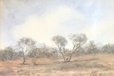 Original Watercolour by Kym Hart. A listed Australian artist.