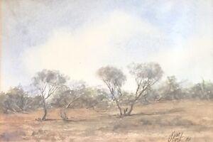 Kym Hart. Original Watercolour. A listed Australian artist.