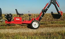 trencher/ mini backhoe Free Shipping to Contiguous 48 States