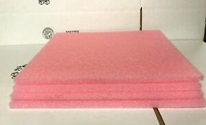 """LOT of 4 ANTI STATIC Firm Foam Electrical Shipping Pack Sheets 18.5"""" x 16"""" x .5"""""""