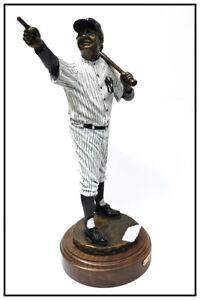 Mark Lundeen Babe Ruth Bambino Yankees Bronze Sculpture Signed Baseball Artwork