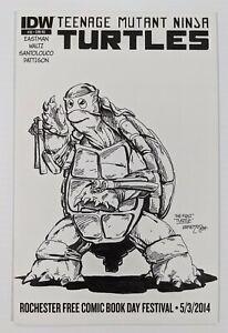 Teenage Mutant Ninja Turtles #33 RE Jetpack FCBD Cover B IDW 2011 NM TMNT