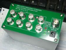 New 10MHz Distribution amplifier OCXO frequency standard 8 port output 2019