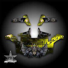Polaris RZR 800 UTV Graphics Decal Wrap 2011 - 2014 Guardian Yellow